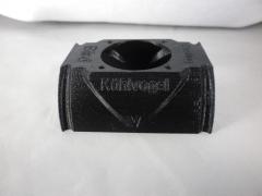 Kühlvogel Gehäuse 55-57mm Schwarz
