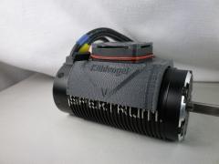 Kühlvogel Komplett-Set 55-57mm Schwarz
