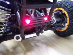 Fluglicht - LED Rücklicht Dunkelgrau